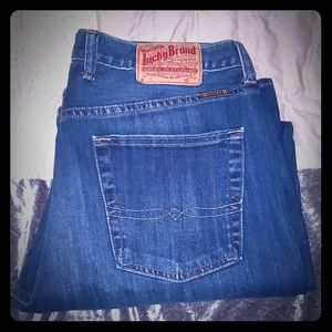 Lucky Men's 34x29 367 Vintage Boot Jeans